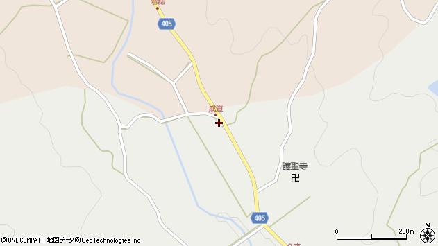 大分県国東市安岐町朝来731周辺の地図