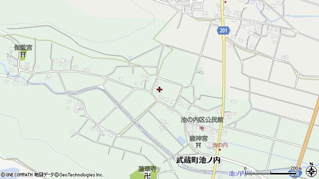 大分県国東市武蔵町池ノ内345周辺の地図