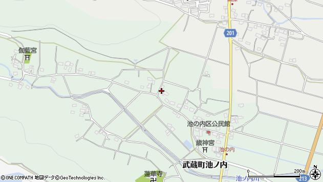大分県国東市武蔵町池ノ内343周辺の地図