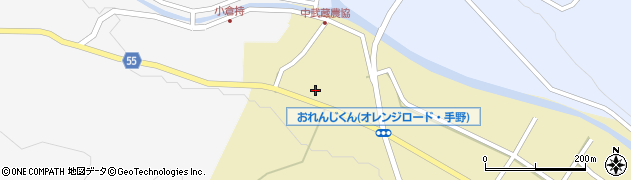 大分県国東市武蔵町手野1065周辺の地図