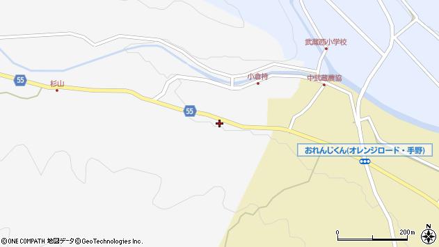 大分県国東市武蔵町吉広205周辺の地図