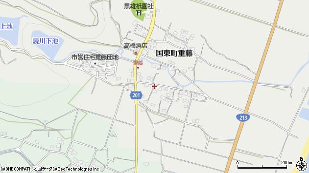 大分県国東市国東町重藤438周辺の地図
