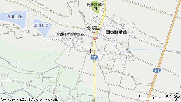 大分県国東市国東町重藤149周辺の地図