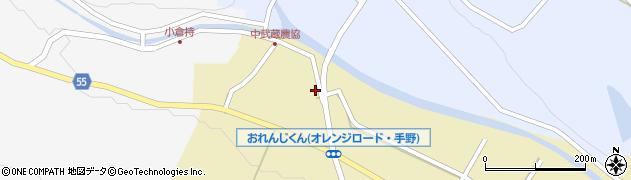 大分県国東市武蔵町手野1038周辺の地図
