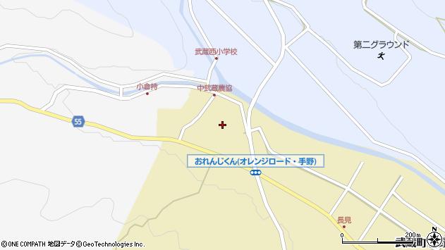 大分県国東市武蔵町手野1077周辺の地図