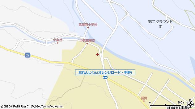 大分県国東市武蔵町手野1082周辺の地図