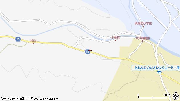 大分県国東市武蔵町吉広今入周辺の地図