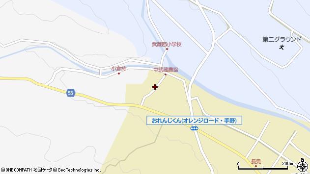 大分県国東市武蔵町手野1059周辺の地図
