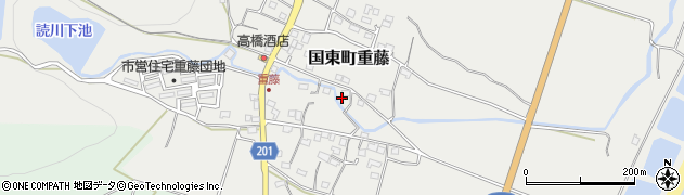 大分県国東市国東町重藤360周辺の地図