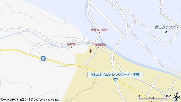 大分県国東市武蔵町手野1055周辺の地図