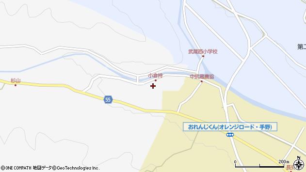 大分県国東市武蔵町吉広96周辺の地図