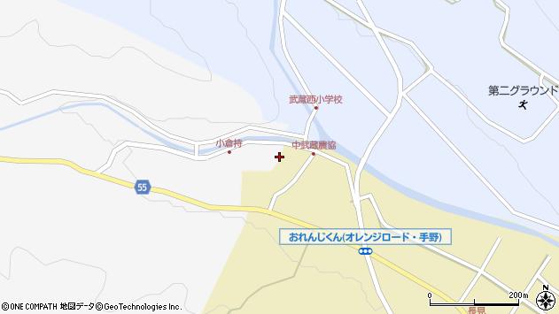 大分県国東市武蔵町吉広56周辺の地図