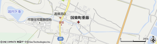 大分県国東市国東町重藤366周辺の地図