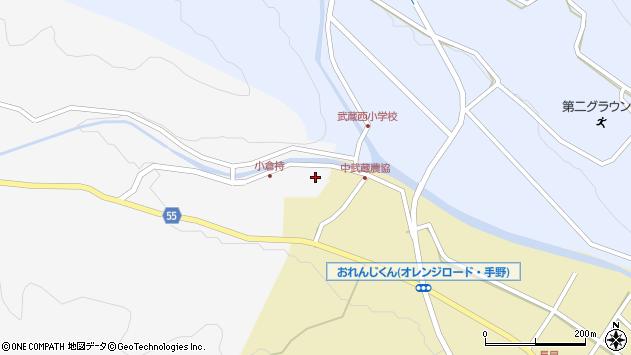 大分県国東市武蔵町吉広86周辺の地図