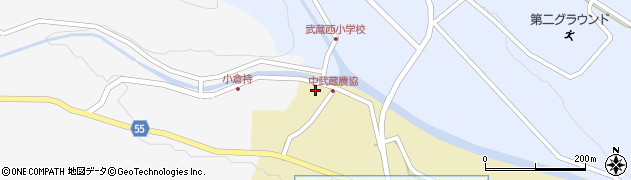 大分県国東市武蔵町手野1051周辺の地図