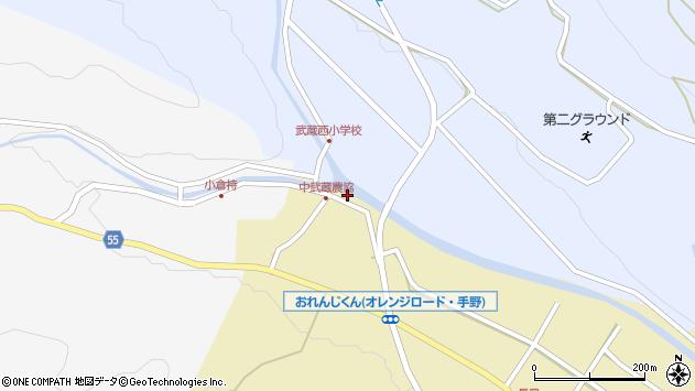 大分県国東市武蔵町手野1043周辺の地図