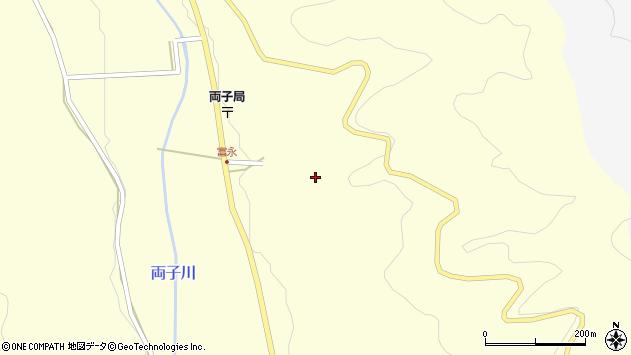 大分県国東市安岐町富清寺台周辺の地図