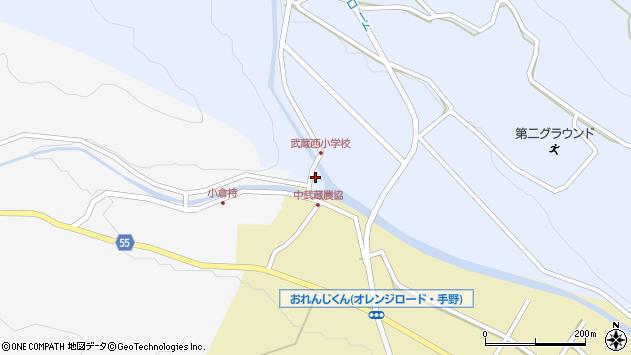 大分県国東市武蔵町麻田556周辺の地図