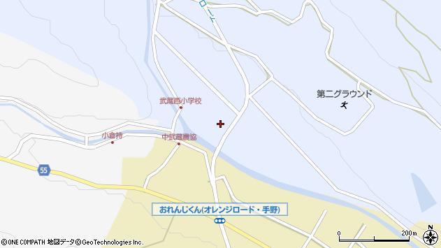 大分県国東市武蔵町麻田32周辺の地図