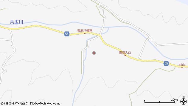 大分県国東市武蔵町吉広中村周辺の地図