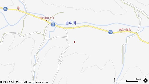 大分県国東市武蔵町吉広鶴周辺の地図