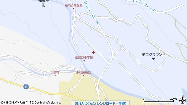 大分県国東市武蔵町麻田49周辺の地図