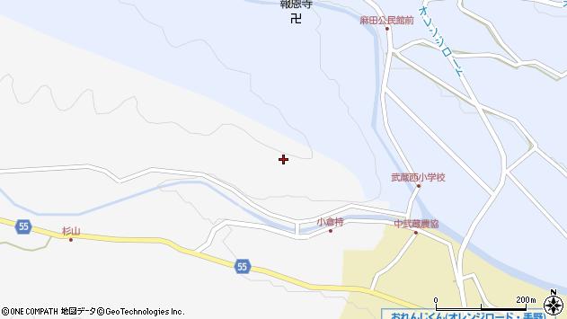 大分県国東市武蔵町吉広小倉持周辺の地図