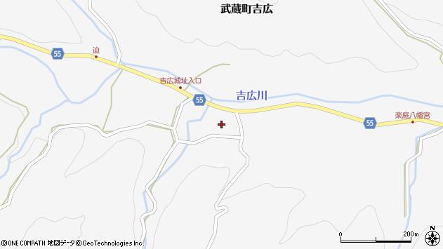 大分県国東市武蔵町吉広1148周辺の地図