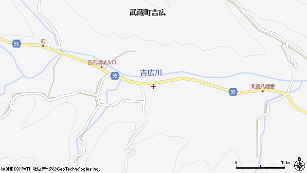 大分県国東市武蔵町吉広901周辺の地図