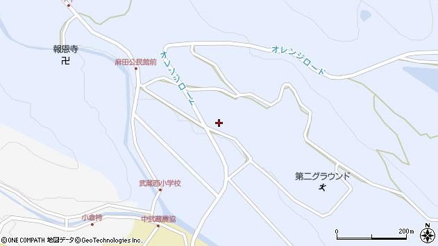 大分県国東市武蔵町麻田410周辺の地図