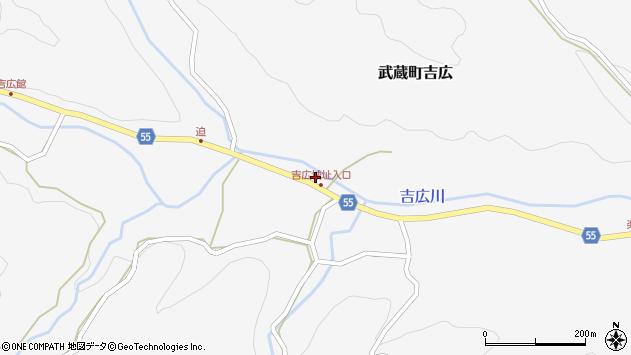 大分県国東市武蔵町吉広1165周辺の地図