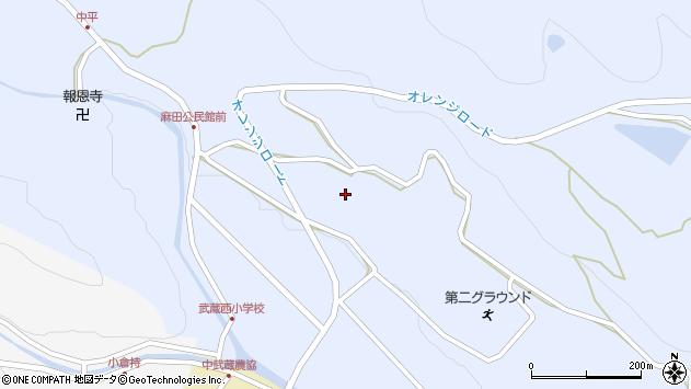 大分県国東市武蔵町麻田413周辺の地図
