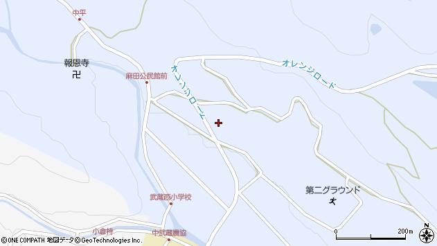 大分県国東市武蔵町麻田425周辺の地図