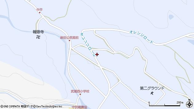 大分県国東市武蔵町麻田422周辺の地図