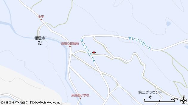 大分県国東市武蔵町麻田419周辺の地図