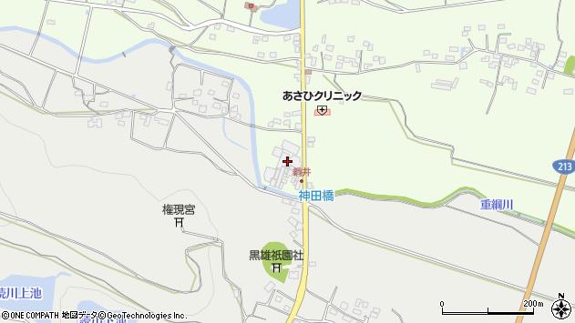 大分県国東市国東町綱井392周辺の地図