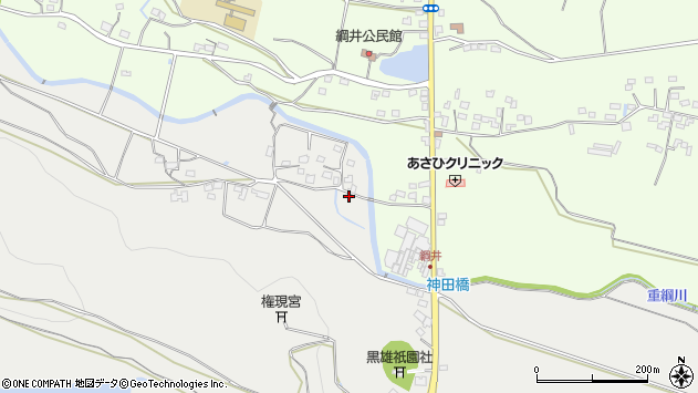 大分県国東市国東町重藤412周辺の地図