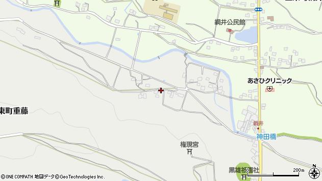 大分県国東市国東町重藤1090周辺の地図
