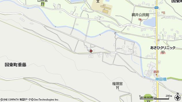 大分県国東市国東町重藤1153周辺の地図
