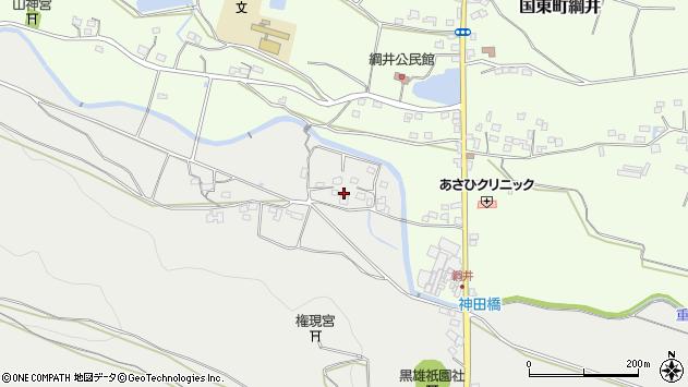 大分県国東市国東町重藤1008周辺の地図