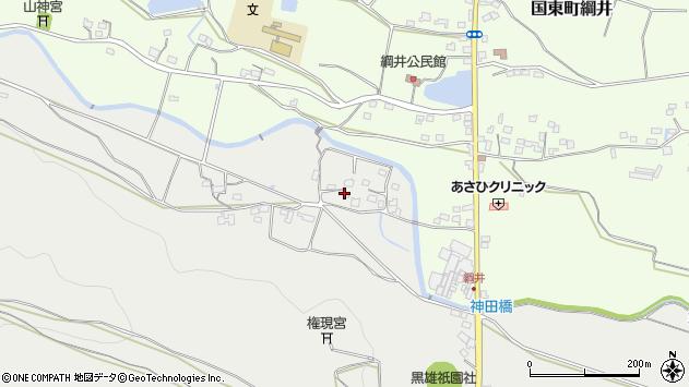 大分県国東市国東町重藤1004周辺の地図