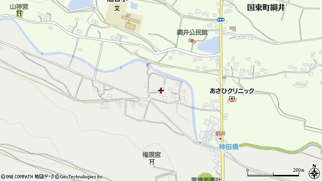 大分県国東市国東町重藤1007周辺の地図