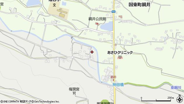 大分県国東市国東町重藤2012周辺の地図