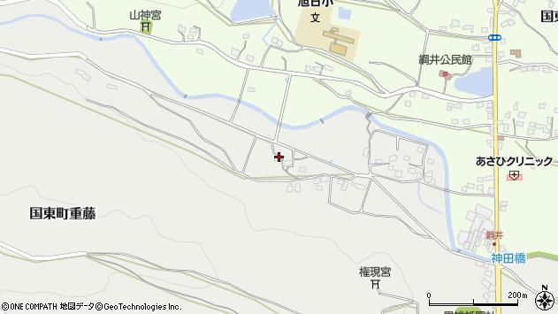 大分県国東市国東町重藤1156周辺の地図
