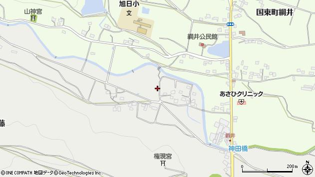 大分県国東市国東町重藤1108周辺の地図