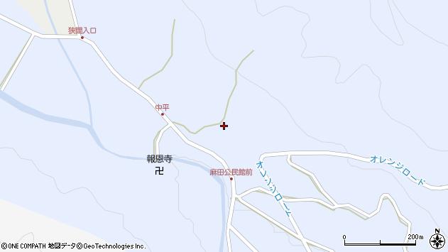 大分県国東市武蔵町麻田367周辺の地図