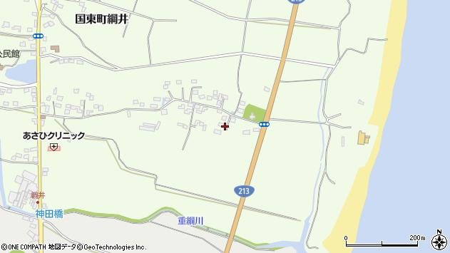大分県国東市国東町綱井661周辺の地図