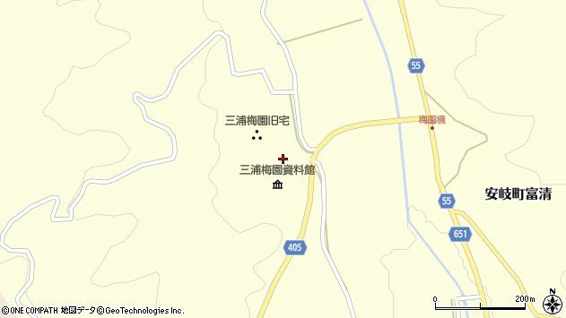 大分県国東市安岐町富清2501周辺の地図
