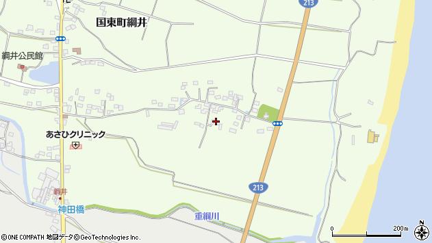 大分県国東市国東町綱井654周辺の地図