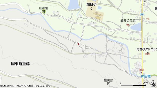 大分県国東市国東町重藤1177周辺の地図